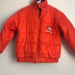 DENVER BRONCOS REVERSIBLE JACKET!
